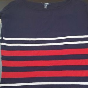 Chaps sweater top